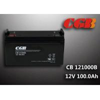 Quality Sealed CB121000B 12V 100Ah Rechargeable Lead Acid Battery Power Back up Application for sale