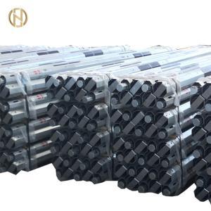 Quality 9M 30FT Tubular Steel Pole , 200daN 2KN GR50 Octagonal Steel Pole for sale