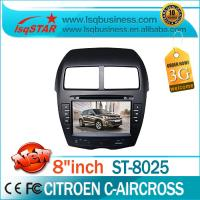Quality Dual Zone Automobile DVD Players 3G Bluetooth for Citroen C-Aircross ST-8025 for sale