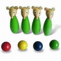 Buy cheap Mini Mouse Bowling Game Set, Each Pin is Sized 5 x 4 x 13cm from wholesalers