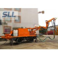 Quality Full Automatic Concrete Spraying Machine With Remote Control Four Wheel Drive for sale