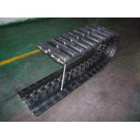 Buy Heavy Equipment Segmented Rubber Tracks 450x110 wtih Flexible Length for Military Vehicle at wholesale prices