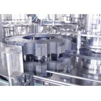 Quality Small Scale Juice Filling Machine , 3 In 1 Automatic Filling Machine For Glass Bottles for sale