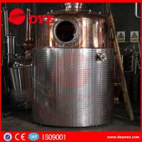 Buy SS Commercial Distilling Equipment Rum Vodka Whiskey Brandy Distillery Equipment at wholesale prices