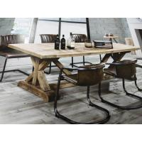 1.8M Length Solid Wood Dining Table , 4 Chair Dining Table