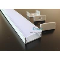 Quality Surface mounting 10mm flat profiles,led system profile,led strip profile for sale