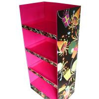 China Colorful Cardboard Promotional Stands , Cardboard Pop Up Display Stands on sale