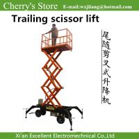 Different heights mobile scissor lifts from scissor lift manufacturers