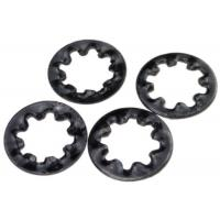 Quality Hardened Metal Stamping Parts Steel Internal Toothed Lock Washer DIN 6797 Type J for sale