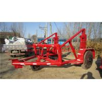 Quality cable trailer,cable drum table,cable drum carriage for sale