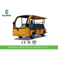 Quality Low Noise Light Weight 4kw Electric Buggy With 8 Seats For Amusement Park for sale
