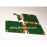 Multilayer Mix Rigid Flexible PCB L2-18 Gold Plating Blind / Burried Vias
