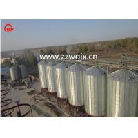Quality 25D Roof Height Grain Storage Bins , Food Products / Starch Bulk Grain Bins for sale
