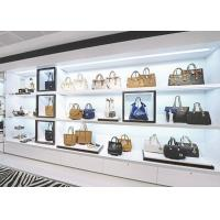 Buy Boutique Handbag Display Shelves / Store Display Cabinet Disassembly Structure at wholesale prices