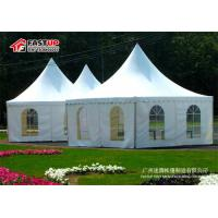Quality Customized Size Outdoor Event Tent Permanent Use None Interior Pole for sale