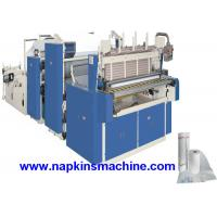 China 3 Layer Toilet Tissue Roll Slitting Rewinding Machine For Paper Making on sale