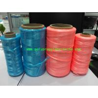 Quality UV Treated High Tenacity Polypropylene Twine , Poly Baler Twine  Blue Red Color for sale