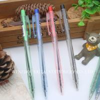 China Click Pen Retractable Ballpoint Pen stationery for school and office Fast writing smooth on sale