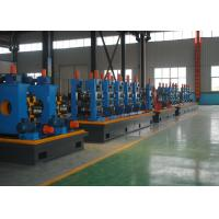 Quality High Frequency Welded Pipe Making Machine , Durable Square Tube Mill for sale