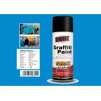 Quality Diamond Blue Color Custom Spray Paint Resists Fading For Interior And Exterior for sale