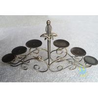 Buy cheap CH-30-2 etched Acrylic hurricane candle holders from wholesalers