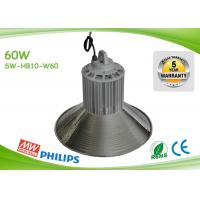 Quality Indoor 125lm / W 60w Led High Bay Lights Commercial High Bay Lighting for sale