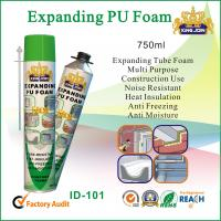Quality Expanding Tube PU Foam Sealant Noise Resistant For Window Or Door Wood for sale