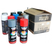 Quality Fast Drying Neon Acrylic Spray Paint With 360 Degree Rotation Nozzle for sale