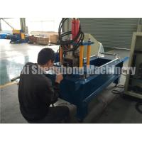 China Metal Door Frames Roll Forming Machine GCR 15 Roller Material on sale