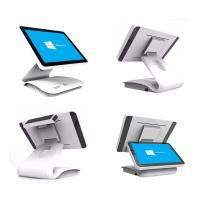 Quality 15 . 6 Inch Capacitive Touch Screen POS Terminal White Color Fanless Factory Sales for sale