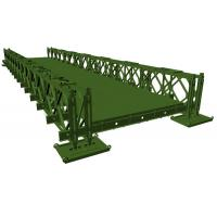 Buy cheap 200 Type Bailey Bridge With DSR (Double Row Single Layer reinforced) from wholesalers