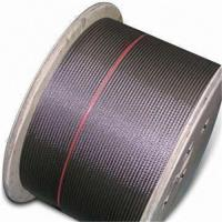 Quality Wire Rope for Elevator, with Galvanized Surface Finish for sale