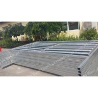 Quality Heavy Duty Galvanized Cattle Yard Panels Horse Fence For Farm Livestock JH for sale