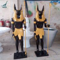 Handmade life size Resin Sculpture anubis statue For Sale