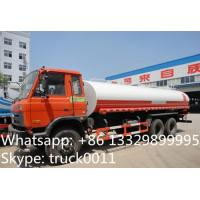 Quality hot sale dongfeng 6*4 Euro 3 210hp diesel 18cbm-22cbm water truck, factory sale best price dongfeng 22m3 cistern truck for sale