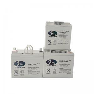 Quality 27kg 12V 33Ah 20HR Battery 38A Gel Lead Acid Battery F2 F1 Terminal For Alarm System for sale