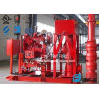 Quality Ductile Cast Iron Fire Fighting Pump Set With Vertical Turbine Fire Pump For Metro Stations for sale