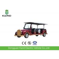 Quality 8 Seater 7.5KW Electric Vintage Cars Classic Retro Golf Cart CE Certificated for sale