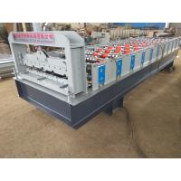 Quality 380V Stone Coated Metal Roof Tile Production Line , Roofing Sheet Making Machine for sale