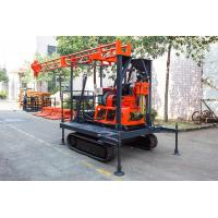 Quality Light Portable Core Drill Rig Crawler-Mounted Engineering Drilling Machine for sale