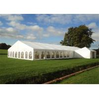 Quality With Roof Linings Custom Event Tents For Wedding Party White High Peak Canopy for sale