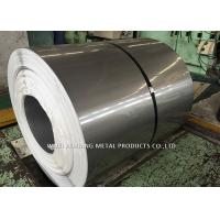 Quality Mirror Finish 201 Stainless Steel Coil / Steel Sheet Coil For Pipe Making for sale