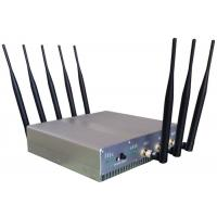 Quality Omni Directional Cell Phone Signal Jammer with UPS battery For Schools , 210*50*185mm for sale