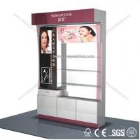 Quality Stylish design standing cosmetic cabinet showcase for sale