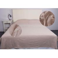 Quality Jersey Oatmeal Modern Bedding Sets Comfortable With Single / Double Sleeping Bags for sale