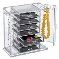 Quality clear acrylic cosmetic makeup organizer drawer for storage for sale