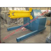 Quality 5 Ton Electrical Decoiler Roll Forming Machine Parts 3 x 1.5 x 1.5 Meters for sale