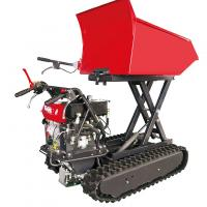 Quality ED500B Easy operate gasoline mini dumper 500kg, small mining truck dumper for sale