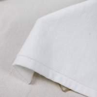 Quality Hemmed Hotel 50g/Pc Plain White Hand Towels for sale