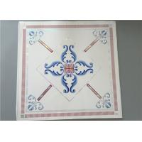 Quality High Intensity White PVC Ceiling Tiles For Bathrooms Various Colors / Patterns for sale